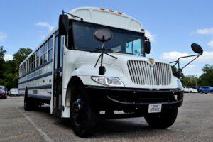 Charter Bus, Church Bus, School Bus, White, Vehicle